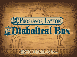 Professor Layton and the Diabolical Box""