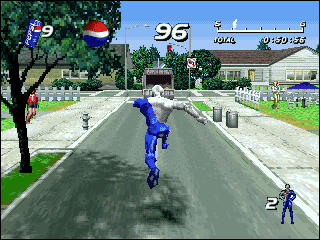 Pepsiman en PlayStation
