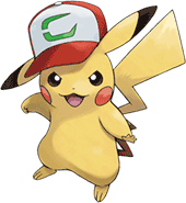 20th Movie Ash's Hat Pikachu